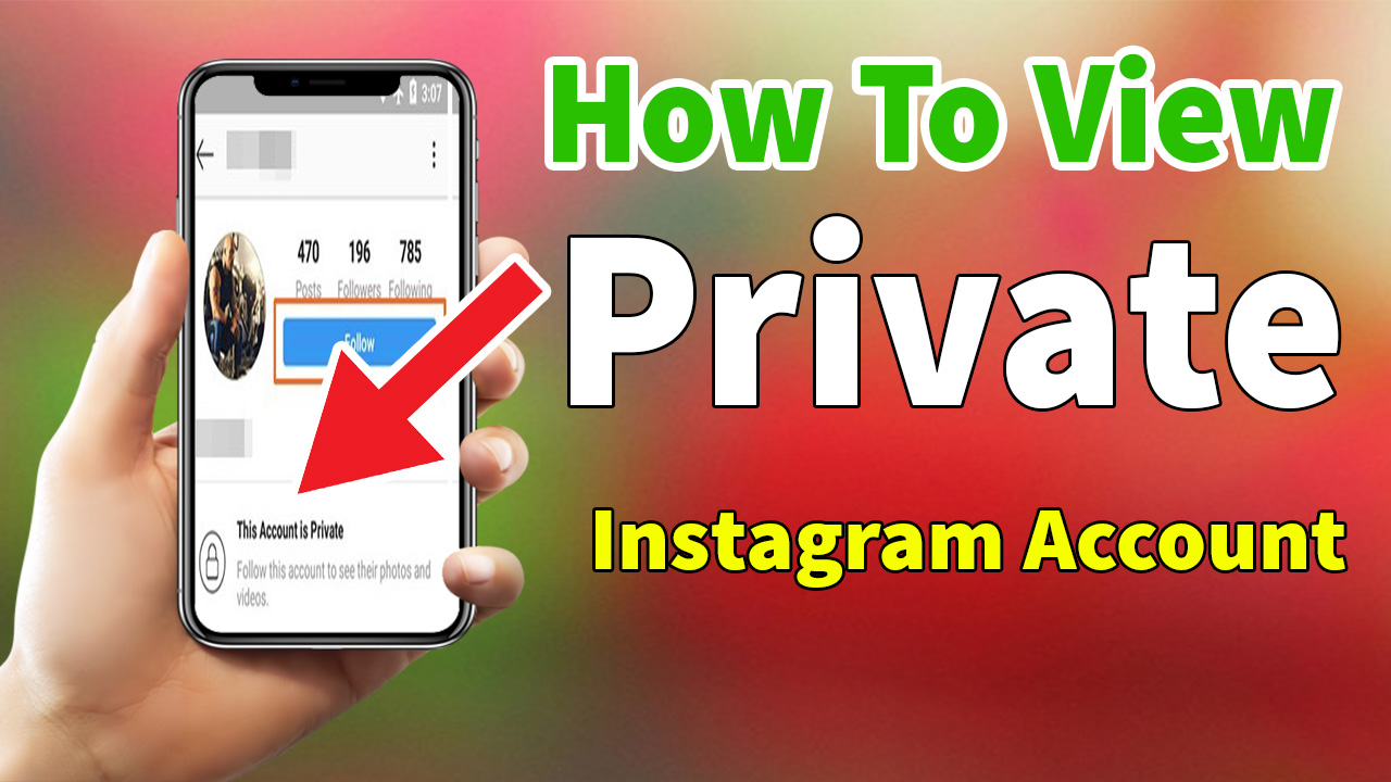 INSTAGRAM:How To View Private Instagram 100% Working Method 2020