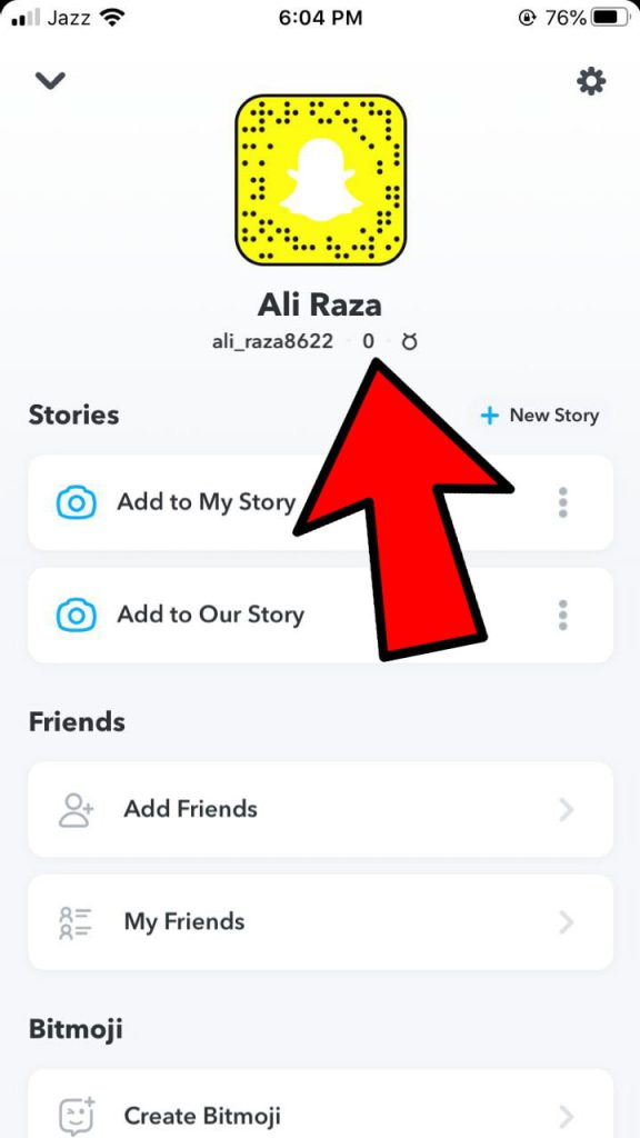 How To Hide Snapchat Score