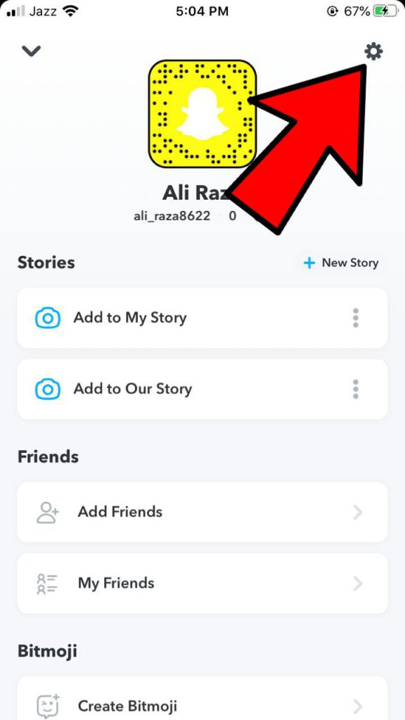 How to Hide Snapchat Score?