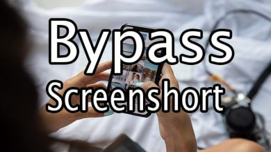 How to bypass screenshot due to security policy