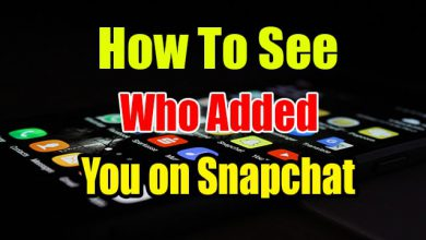 How To See Who Added You on Snapchat