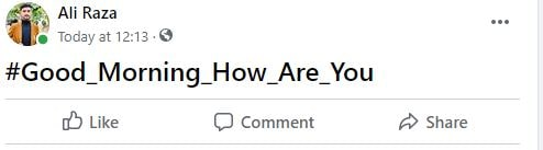How to Bold Text in Facebook Post in Mobile?