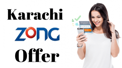 Zong apna Karachi offer