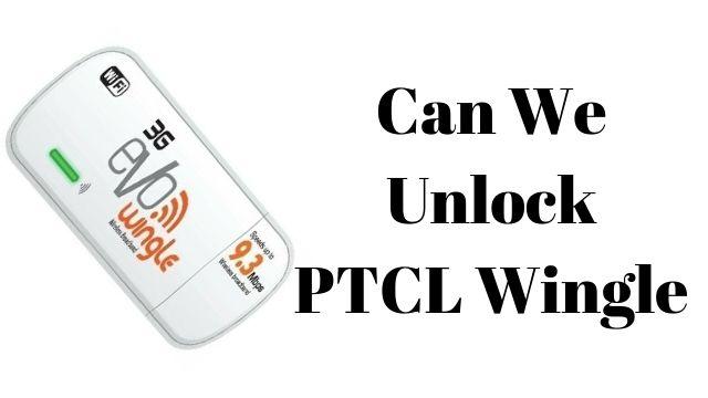 How To Unlock PTCL Evo Wingle Sim Option