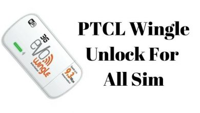 How To Unlock PTCL Evo Wingle Sim Option