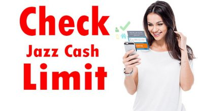 Jazz Cash Account Limit