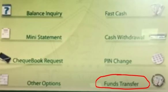Transfer Money Through ATM