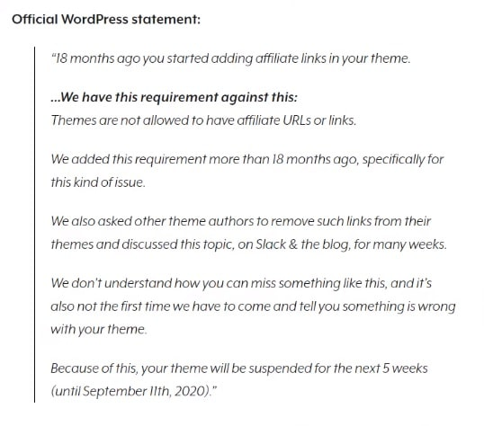 WordPress Suspends Astra Theme