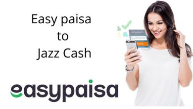 How to Transfer Money from Easypaisa To Jazzcash?