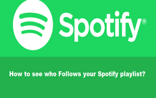 How to see who Follows your Spotify playlist? Simple Steps