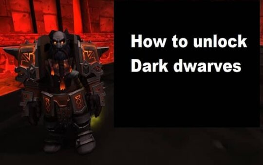 How to unlock dark dwarves? ( 2 most easy steps)