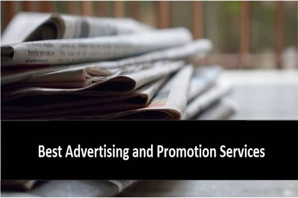 Find the Best Advertising and Promotion Services