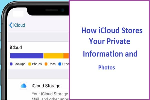 How iCloud Stores Your Private Information and Photos