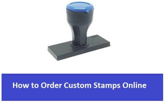 How to Order Custom Stamps Online