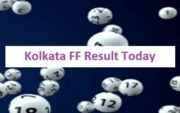 Kolkata FF Result Today 2021