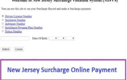 www.njsurcharge.com – New Jersey Surcharge Online Payment