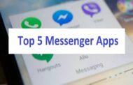 Top 5 Messenger Apps