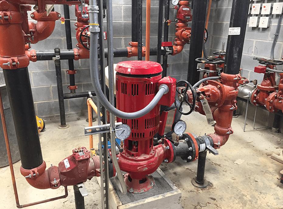 Low pump flow